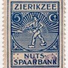 (I.B) Netherlands Revenue : Utility Savings Bank 5c (Zierikzee)