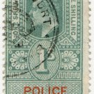 (I.B) Edward VII Revenue : Police Courts 1/-