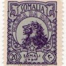 (I.B) Somalia Revenue : Marca da Bollo 20s