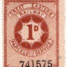 (I.B) Great Eastern Railway : Parcels 1d