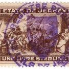 (I.B) Jersey Revenue : Duty Stamp £1 (1912)