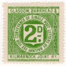 (I.B) Glasgow, Barrhead & Kilmarnock Joint Railway : Letter 2d