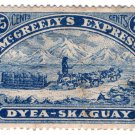(I.B) Canada Cinderella : McGreely's Express 25c (Dyea-Skaguay)