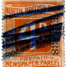 (I.B) North British Railway : Newspaper Parcel 4d