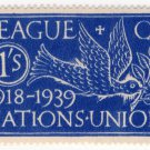 (I.B) Cinderella Collection : League of Nations Union 1/-