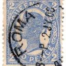 (I.B) Australia Postal : Queensland 2d (Roma)