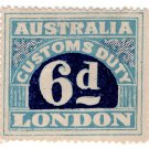 (I.B) Australia Revenue : Customs Duty 6d