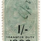 (I.B) QV Revenue : Transfer Duty 1/- (1888)
