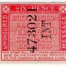 (I.B) United Kingdom Electric Telegraph Co : Message 6d