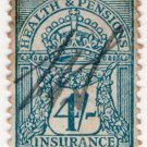 (I.B) George V Revenue : Health & Pensions Insurance 4/-