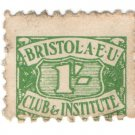 (I.B) Cinderella Collection : Bristol AEU Club & Institute 1/-