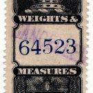 (I.B) Canada Revenue : Weights & Measures $2