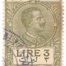 (I.B) Italy (Libya) Revenue : Duty Stamp 3L (1923)