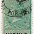 (I.B) QV Revenue : Patent Office 1/- (1879)