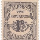(I.B) Great Northern Railway : Newspapers 1d (Small Format)
