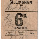 (I.B) South Eastern & Chatham Railway : Parcel 6d (Gillingham)