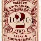 (I.B) Preston & Wyre Railway : Newspapers 2d