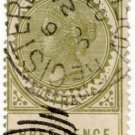 (I.B) Australia Postal : South Australia 3d (Adelaide registered)