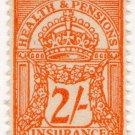 (I.B) George V Revenue : Health & Pensions Insurance 2/-