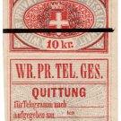 (I.B) Austria Telegraphs : Vienna Private Telegraphs 10kr