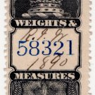 (I.B) Canada Revenue : Weights & Measures $1.50