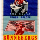 (I.B) Sweden Cinderella : Rönnebergs Sparbank (Savings Bank)