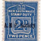 (I.B) Australia - NSW Revenue : Stamp Duty 2d (AMPS pre-cancel)