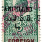 (I.B) Edward VII Revenue : Foreign Bill 3/- (London Joint Stock pre-cancel)