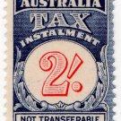 (I.B) Australia Revenue : Tax Instalment 2/-