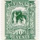 (I.B) St Vincent Revenue : Duty Stamp 10c