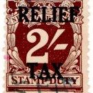 (I.B) Australia - NSW Revenue : Relief Tax 2/-