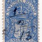 (I.B) George V Revenue : National Health & Insurance 4½d