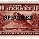 (I.B) Jersey Revenue : Duty Stamp £10