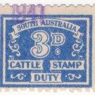 (I.B) Australia - South Australia Revenue : Cattle Duty 3d