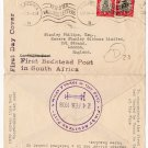 (I.B) South Africa Postal : First Bedstead Post (1938)