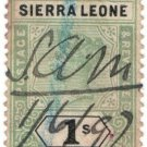 (I.B) Sierra Leone Revenue : Duty 1/-