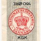 (I.B) Denmark Revenue : Cigarette Duty 1.60Kr (160 Øre)