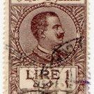 (I.B) Italy (Libya) Revenue : Duty Stamp 1L (1923)