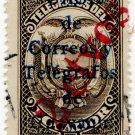(I.B) Ecuador Telegraphs : Postal Overprint 2c