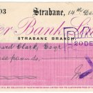 (I.B) George V Revenue : Cheque Duty (Northern Ireland) 2d