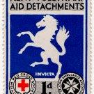 (I.B) Cinderella Collection : Kent Red Cross & St John Fund-Raising 1d
