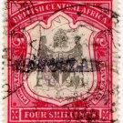 (I.B) Rhodesia/British Central Africa Revenue : Consular 4/-