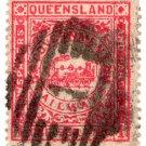 (I.B) Australia - Queensland Railways : Parcel 1/-