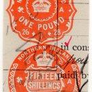 (I.B) George V Revenue : Impressed Duty £1 15/- (Northern Ireland)