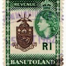 (I.B) Basutoland Revenue : Duty Stamp R1