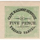 (I.B) Cape of Good Hope Railway : Cape Railway Parcel 5d