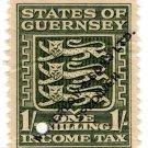 (I.B) Guernsey Revenue : Income Tax 1/- (Waterlow specimen)