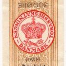 (I.B) Denmark Revenue : Cigarette Duty 3Kr (300 Øre)