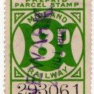 (I.B) Midland Railway : Parcels 8d (Newark)