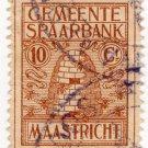 (I.B) Netherlands Revenue : Town Savings Bank 10c (Maastricht)